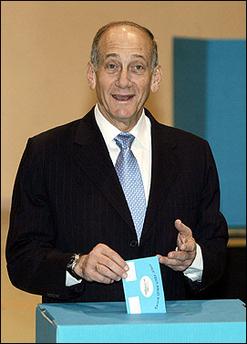 Olmert vota
