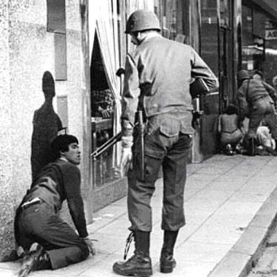 Historia de la dictadura militar en Argentina y imagenes