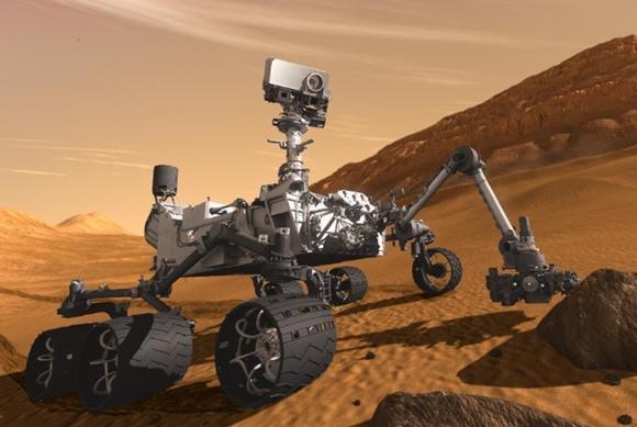 Curiosity es el pequeño carro que vemos estos días de paseo por Marte.